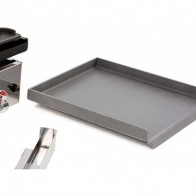 Placa de acero laminado 40cm para cocina a gas
